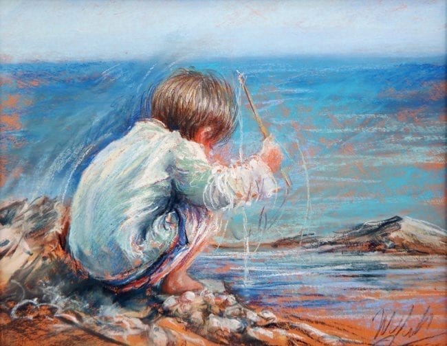 Little Fisherman, SOLD