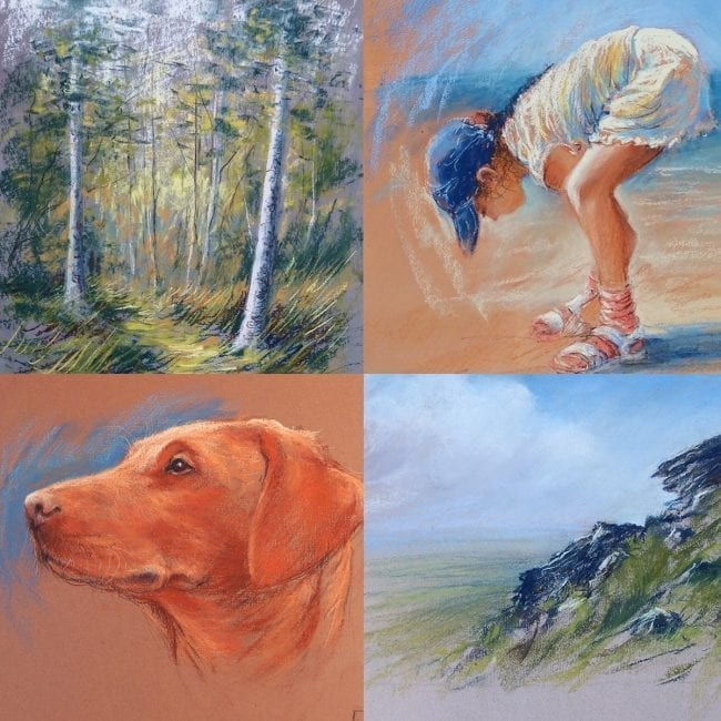 Pastels for Beginners Video Course Part 2