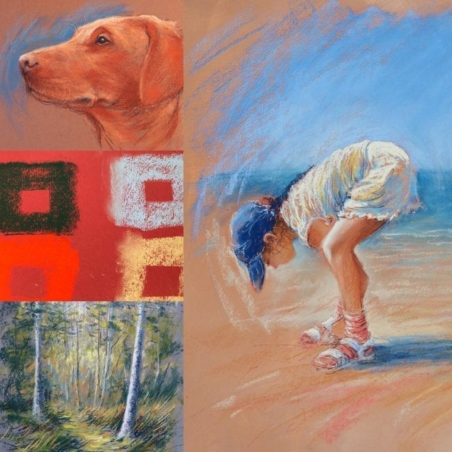 Pastels for Beginners Video Course Part 1 & 2