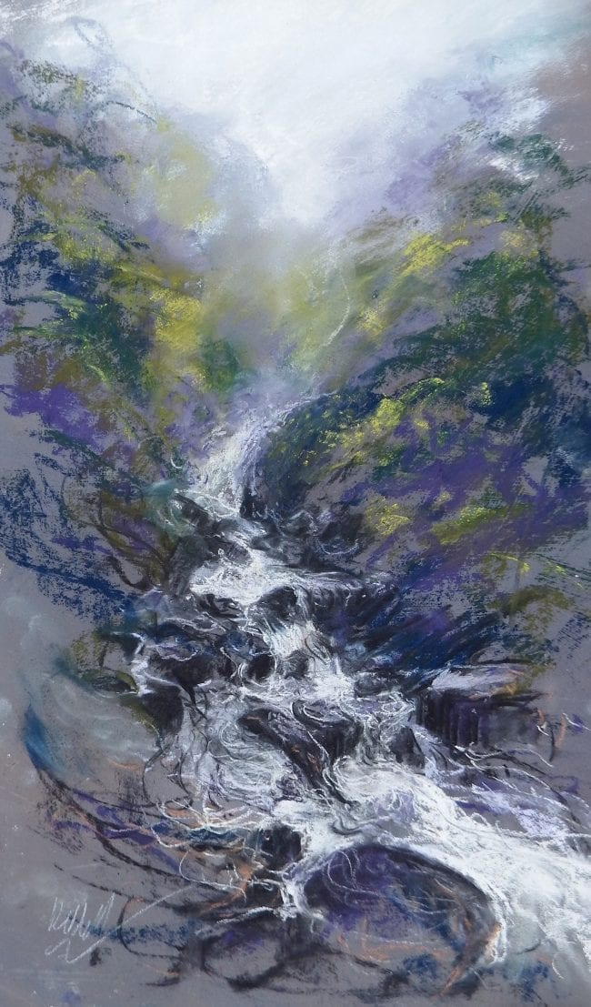 In the Gorge, sketch £245