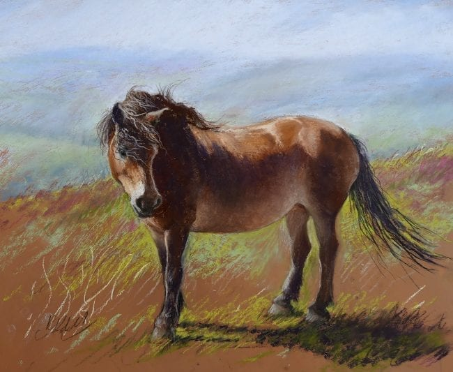 Out on the Moor, Sketch, £295