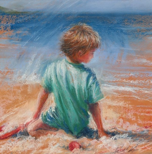 Playing in the Sand, £145