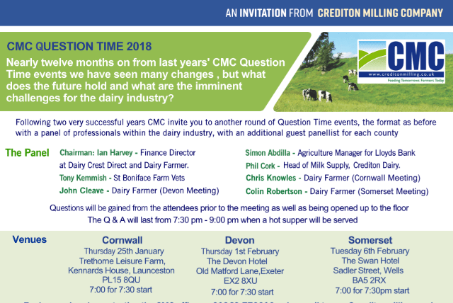 CMC Question Time is back!