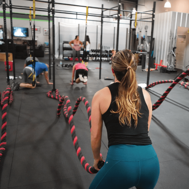 9 Fundamental movements of CrossFit.