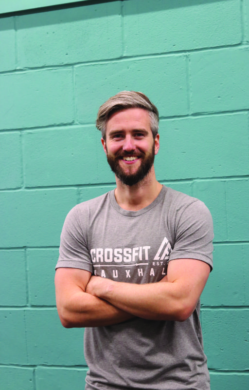 London Crossfit instructor Mike